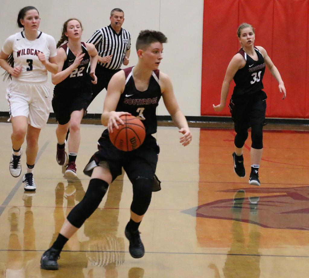 No. 1 Southridge Downs Westview 61-40 Behind 27 Points