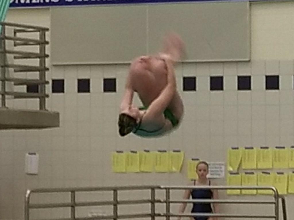 McCabe wins PIAA diving gold