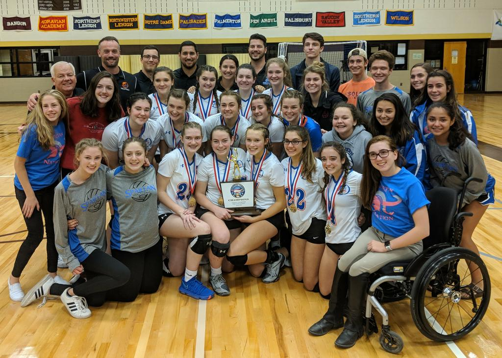 Southern Lehigh girls volleyball completes sweep through Colonial League