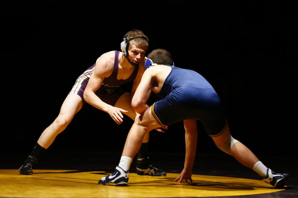 Palisades' Wasser reaches milestone on 1st night of District 11 2A wrestling