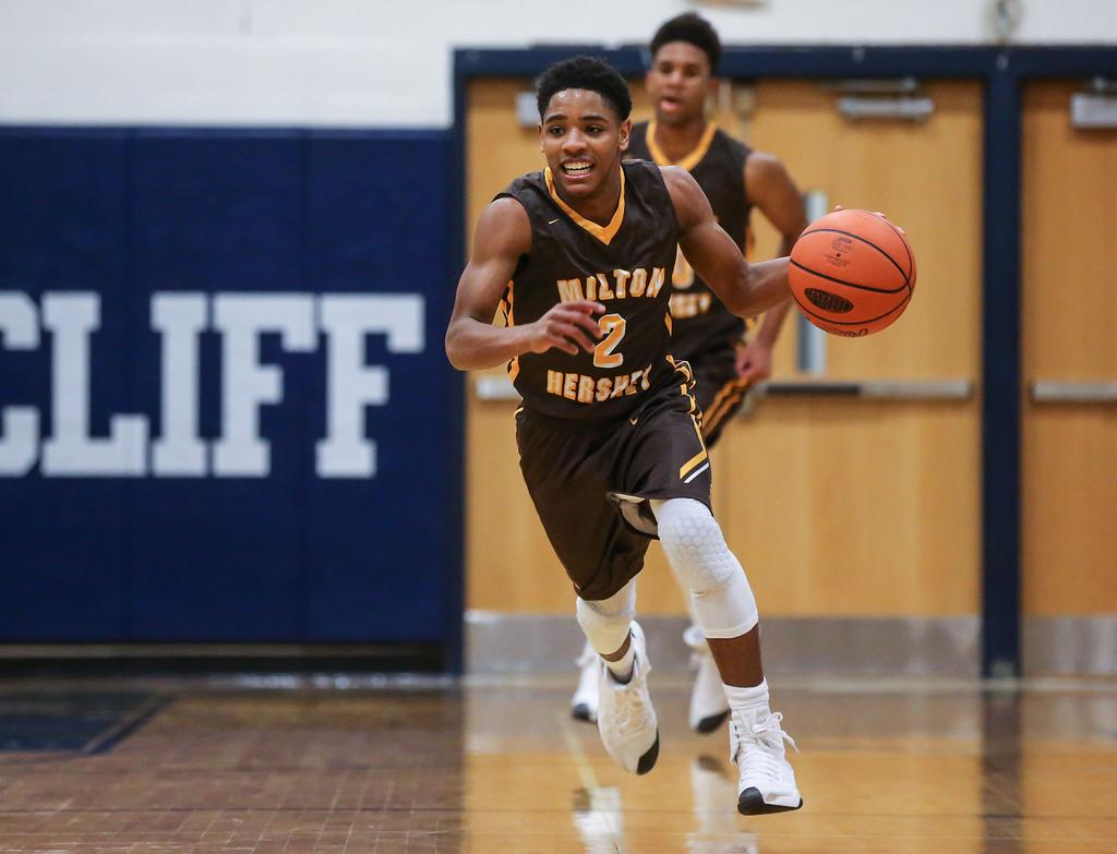 Milton Hershey survives tilt with hot-shooting Bishop Shanahan to reach PIAA Class 5A ...