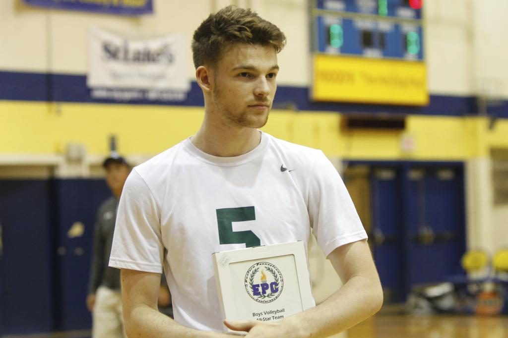 Emmaus' Parsons is 2018 lehighvalleylive Boys Volleyball Player of the Year