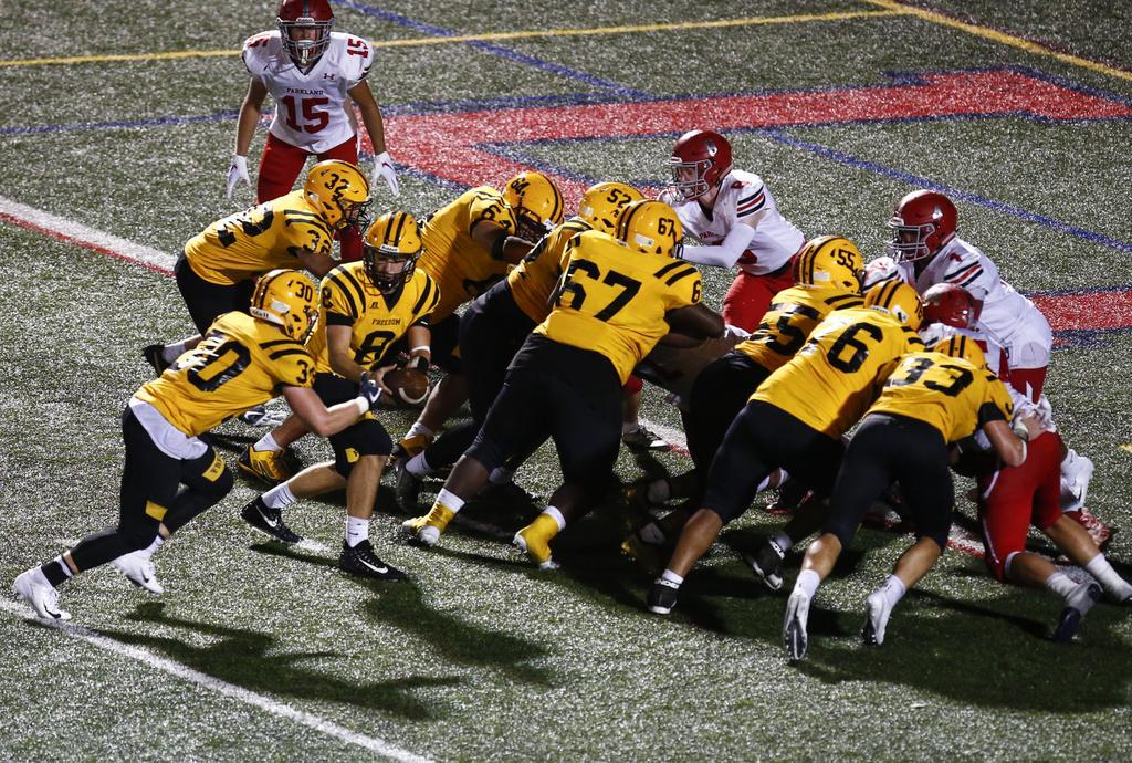 High school football playoff scoreboard for Saturday, Nov. 10