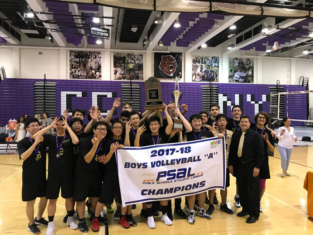 McKee/Staten Island Tech makes it a three-peat in PSAL boys' volleyball