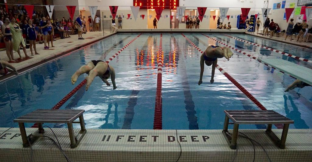 J D Beats Rival New Hartford In Girls Swimming And Diving