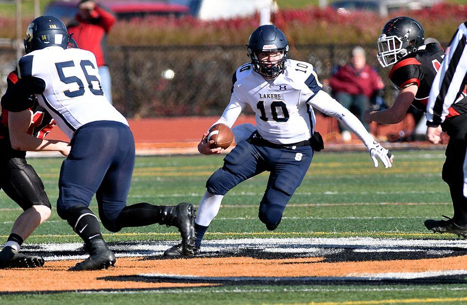 Skaneateles football in uncharted territory in state semifinal against Cleveland Hill