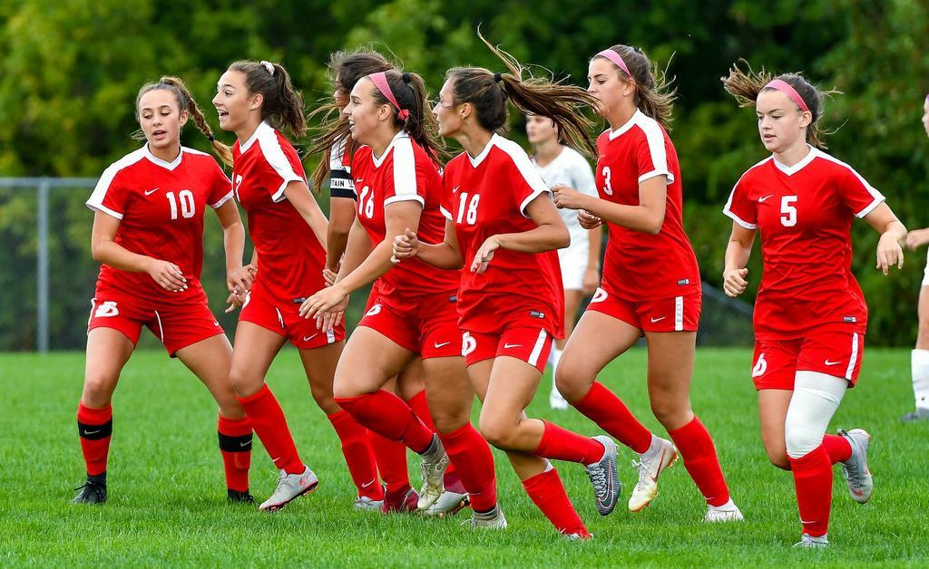 J D Hp Little Falls Cincinnatus All Vying For Girls Soccer State