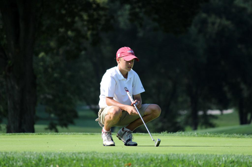 Section III boys golf state qualifier first round results