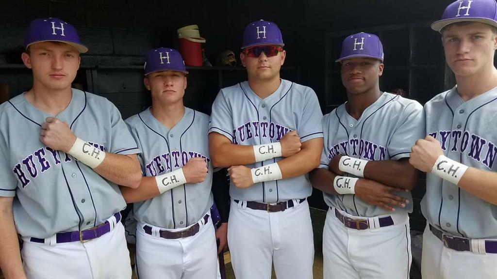'He's not giving up': Hueytown baseball honors classmate battling cancer