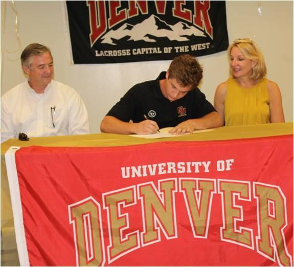 Denver Lacrosse Signs Mountain Brook Star