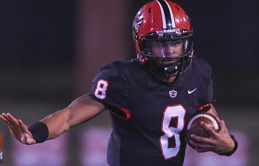 Central-Phenix City 49, Jeff Davis 0: LSU commit Peter Parrish leads Red Devils