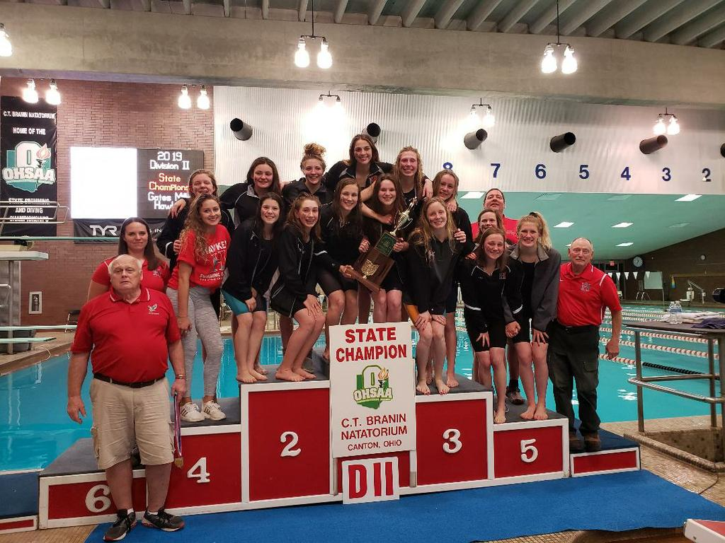 Hawken girls swimming captures 21st straight state title