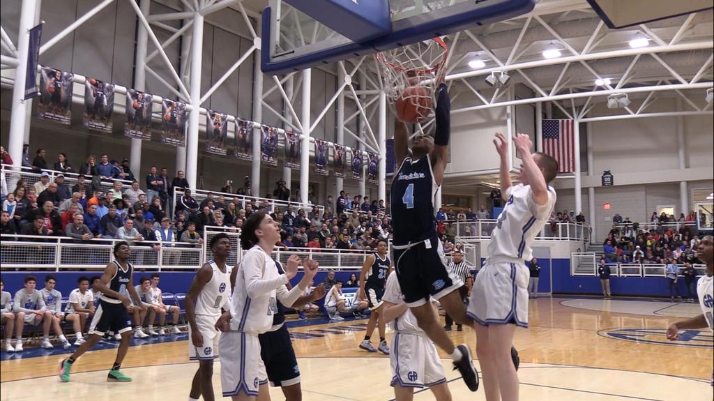 Benedictine serves notice to district with 75-69 boys basketball win at No. 21 Gilmour